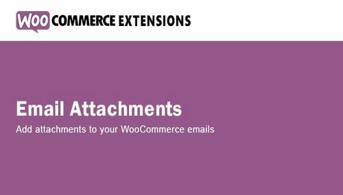 Email Attachments for WooCommerce