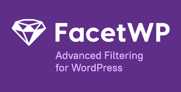 FacetWP 3.8.2 - Advanced Filtering for WordPress + All addons