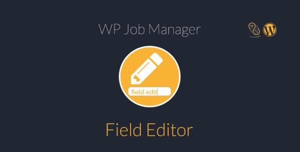WP Job Manager Field Editor 1.8.1