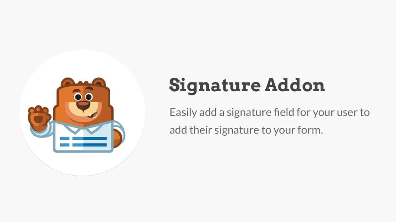 WPForms Signature