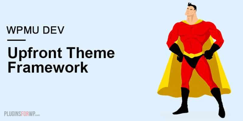WPMU DEV Upfront WordPress Theme Framework