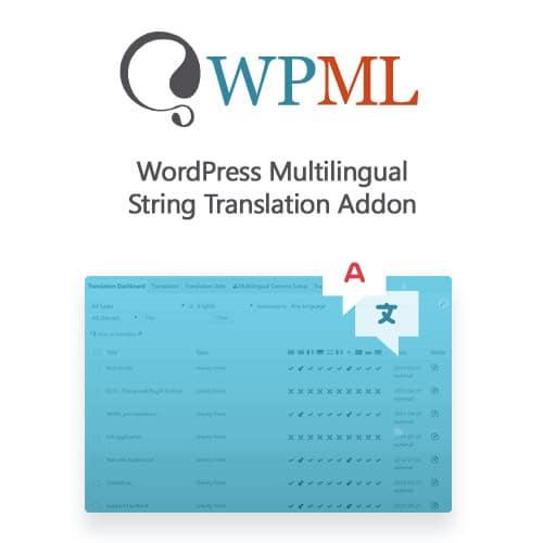 WordPress Multilingual String Translation