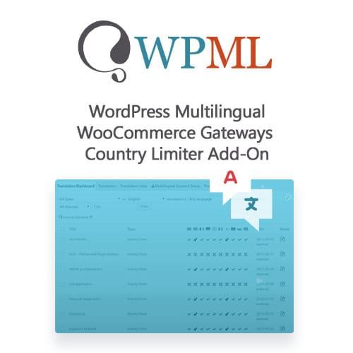 WordPress Multilingual WooCommerce Gateways Country Limiter