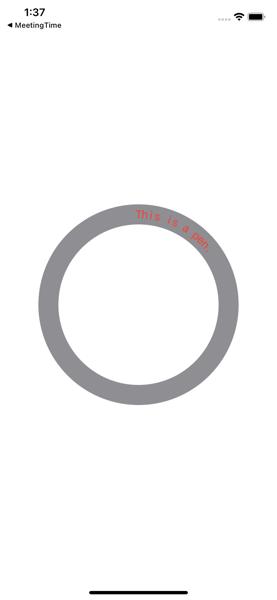 CircularText 完成図