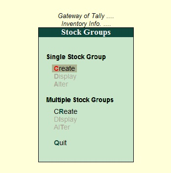 How to maintain inventory in Tally ERP 9