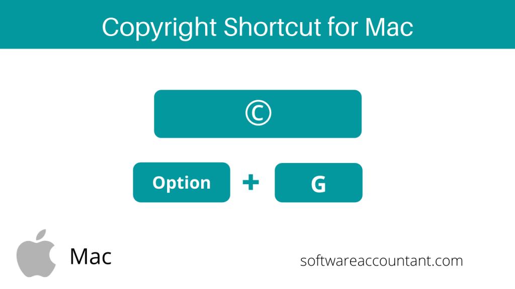 copyright c symbol shortcut