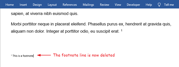 Footnote is now deleted