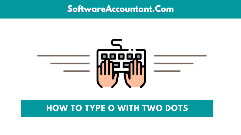 how to type o with two dots over it