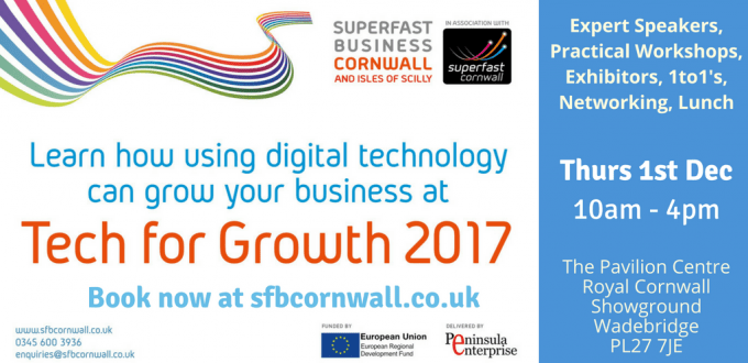 Superfast Business Cornwall Event