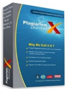 Plagiarism Checker X 7.0.7 Crack With License Key 2021 Latest