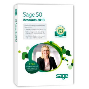 Sage 50 Accounts Plus 2013