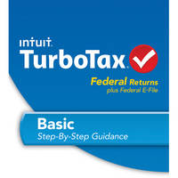 2012 TURBOTAX BASIC FOR WINDOWS Federal + E-file