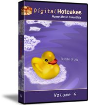 Digital Hotcakes Home Movie Essentials Vol 4 Bundle of Joy