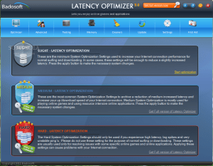 Latency Optimizer 3.0