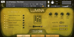 [ProjectSAM] Lumina - download Kontakt Cinematic Sampler