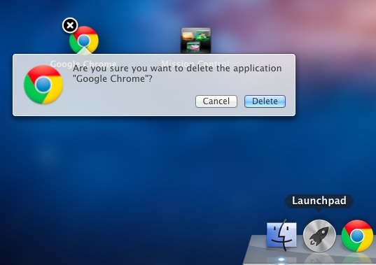 how to uninstall software on mac with launchpad