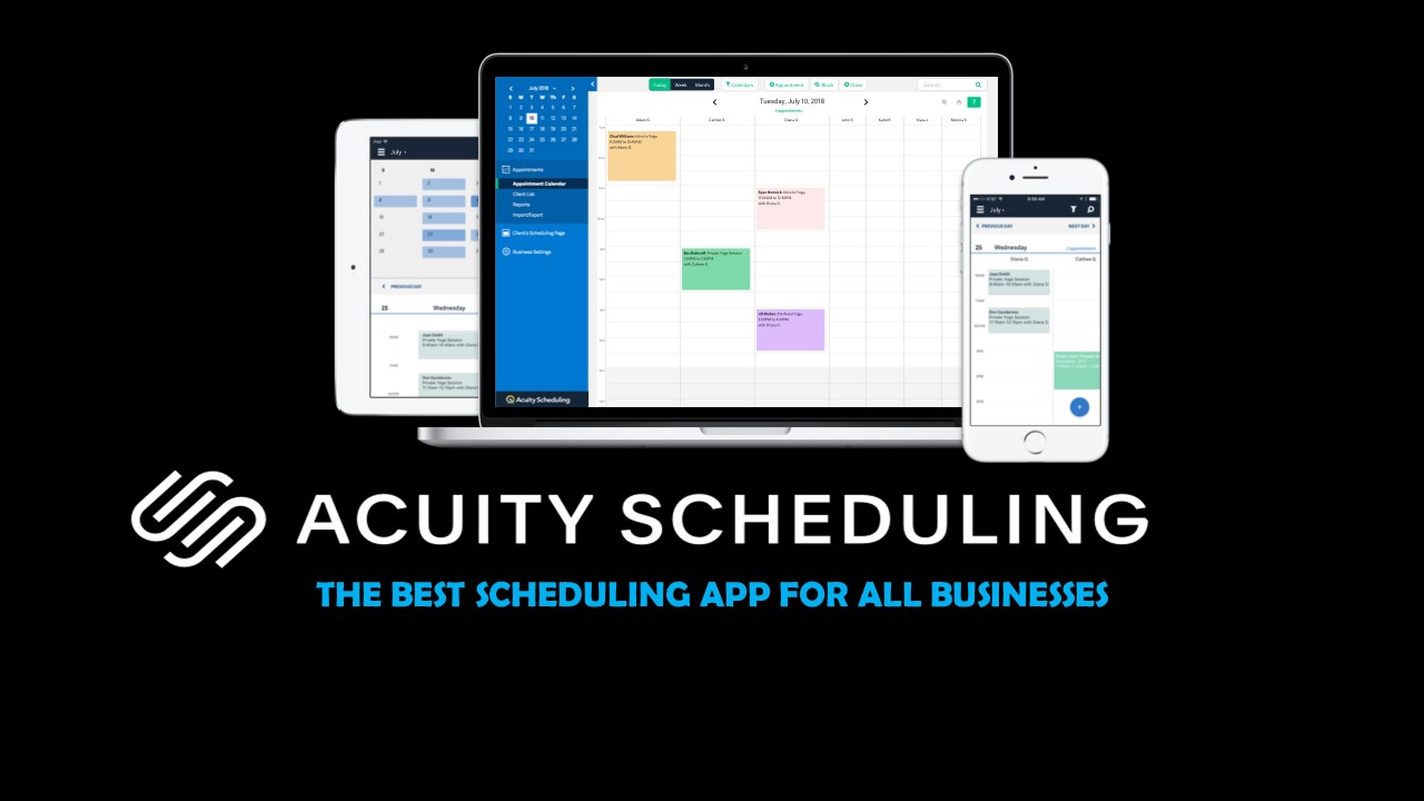 Acuity Scheduling software is a cloud-based software solution for appointment scheduling that allows business owners to manage their appointments online with ease.