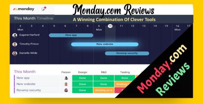 monday.com reviews