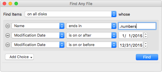 Find Any File 2.0 For Mac