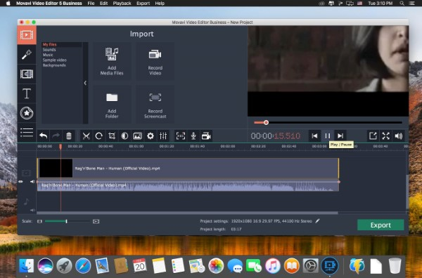 Movavi Video Editor 15 Business 15 5 0 Mac Activation Key
