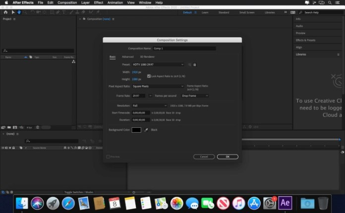 Adobe After Effects 2021 Full macOS