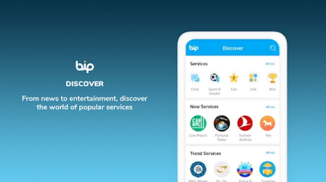 BiP for PC and Windows 7,8,10