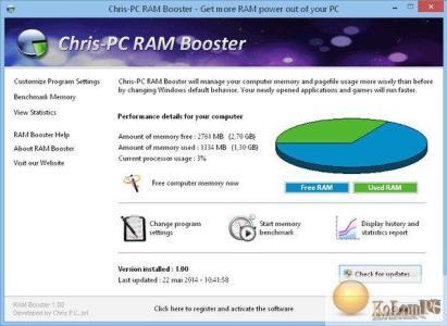 Chris-PC RAM Booster 5.14.14