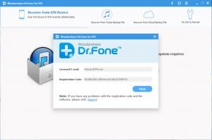 wondershare dr fone registration code 2018