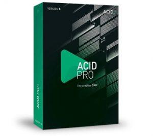 MAGIX ACID Pro Crack 8.0.7 Build 233