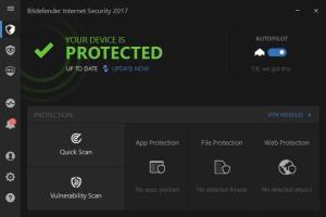 Bitdefender Internet Security 2017 License Key Crack Free Download