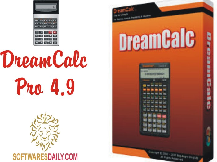 DreamCalc Pro 4.9 Crack Patch Serial Key Free Download