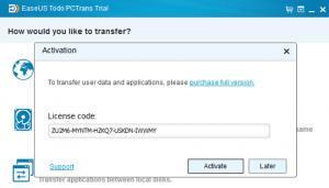EaseUS Todo PCTrans Pro 9.6 License Key & Patch Download