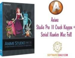 Anime Studio Pro 10 Crack Keygen + Serial Number Mac Full