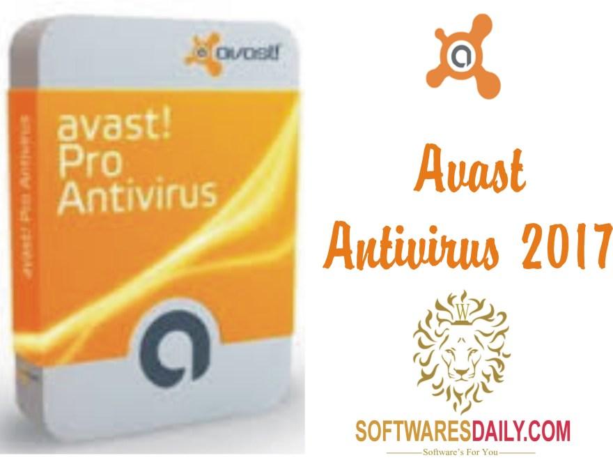 Avast Antivirus 2017 Crack Keygen With License Key Full Free