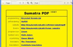 Sumatra PDF Reader 3.1 Free Crack Serial Key Full Download