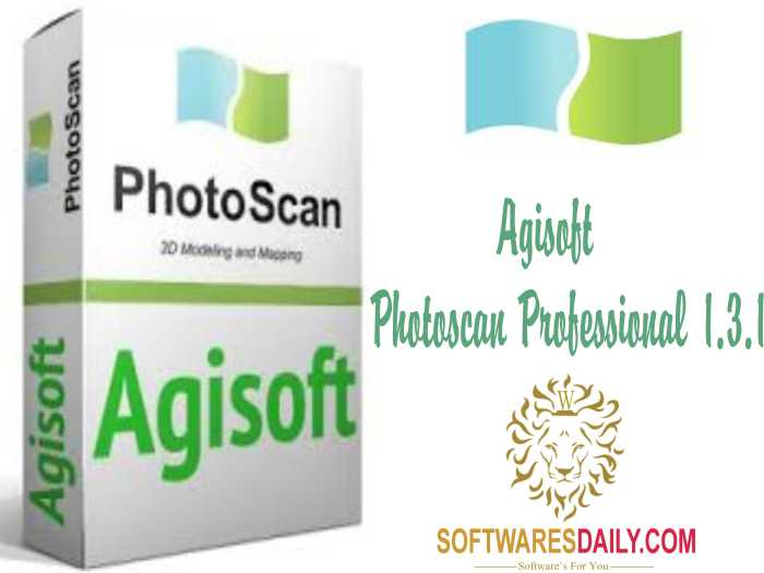 Agisoft PhotoScan Professional 1.3.1 Crack & Patch Download