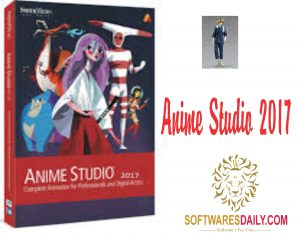 Anime Studio 2017 Crack + Serial For Windows Download
