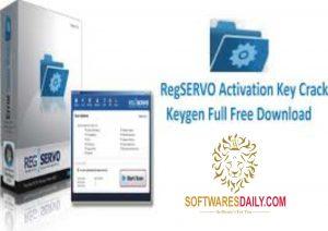 RegSERVO Activation Key Crack Keygen Full Free Download