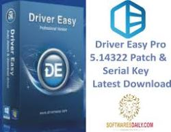 Driver Easy Pro 5.14322 Patch & Serial Key Latest Download