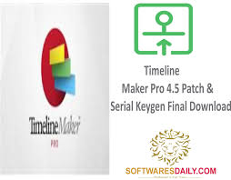 Timeline Maker Pro 4.5 Patch & Serial Keygen Final Download