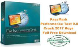 PassMark Performance Test 9.0 Crack 2017 Keys Full Free Download