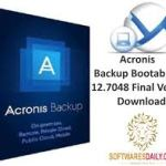 Acronis Backup Bootable ISO 12.7048 Final Version Download