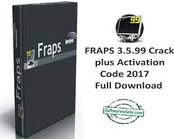FRAPS 3.5.99 Crack plus Activation Code 2017 Full Download