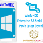 WinToHDD Enterprise 2.6 Serial Key & Patch Latest Download