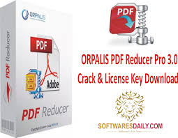 ORPALIS PDF Reducer Pro 3.0 Crack & License Key Download