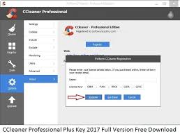 CCleaner Pro 2017 License Key & Crack Final Free Download