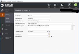 Incomedia WebSite X5 Professional 13 Crack Key Download