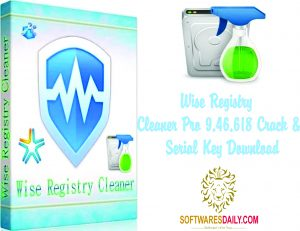 Wise Registry Cleaner Pro 9.46.618 Crack & Serial Key Download