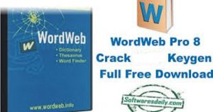 WordWeb Pro 8 Crack & Keygen Final Version Full Download