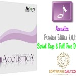 Acoustica Premium Edition 7.0.19 + Serial Keys & Full Free Download